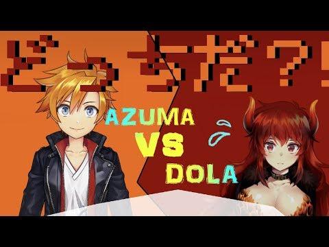 【009】アズマVSドーラ リーダー対決!!【にじさんじSEEDs】