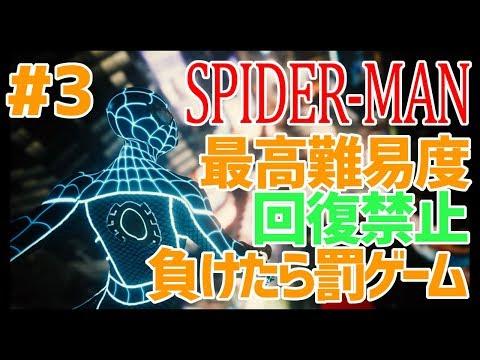 【スパイダーマン】負けたら即バツゲームなスパイダーマン