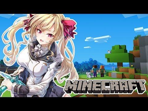【Minecraft】JKの釣りとマイクラでダイヤ掘る【にじさんじ / 鷹宮リオン】