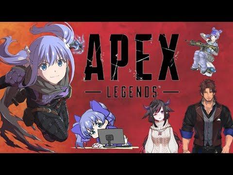 【APEX】ベルバンさんとモルルンと!【ちゃんぽんいただきます】