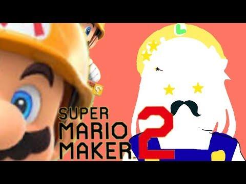 【マリオメーカー2】ストーリーはどんどん進めちゃおうね…☆彡【鈴原るる/にじさんじ】