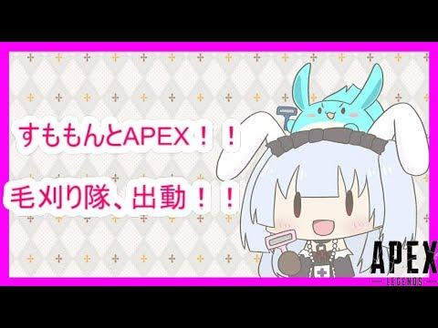 🔴【APEX】すももんとAPEX!毛刈り隊出動!!【にじさんじ/月見しずく】