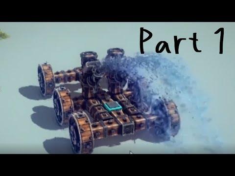 【Besiege実況#1】設問1.youtuberらしく戦車を作りなさい【加賀美ハヤト/にじさんじ】