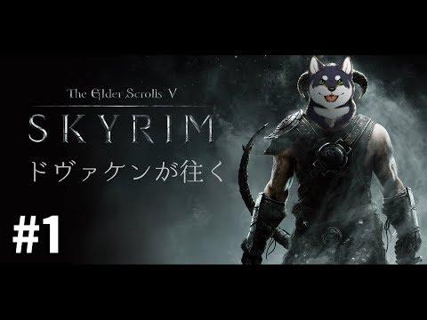 ドヴァ犬(ケン)が往くSkyrim #1