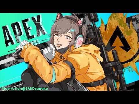 APEX|勇気さんがダイヤに行けるようにお手伝う!!【にじさんじ/叶】