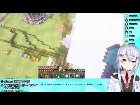 【Minecraft】スノードーム作り【にじさんじ/葉加瀬冬雪】