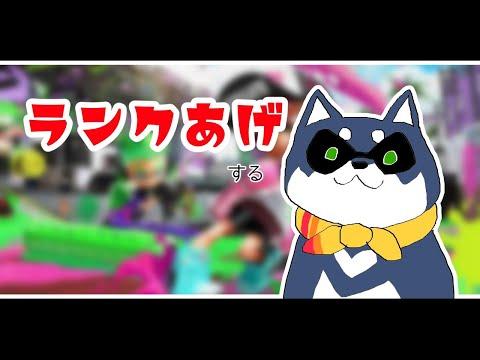 【スプラトゥーン2】ランク上げイカ犬【黒井しば/にじさんじ】