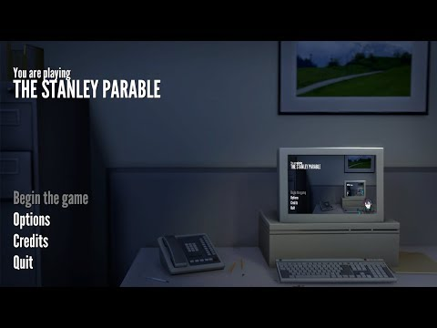 【The Stanley Parable】敷かれたレールの上