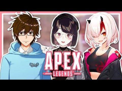 【Apex】あさひさんとよみちゃんとランク!【にじさんじ/瀬戸美夜子】