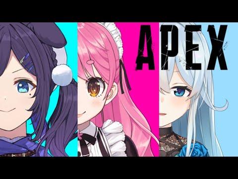 【APEX】愛園とういはろ~とちゃんぽんたべたい!【雪城眞尋/にじさんじ】