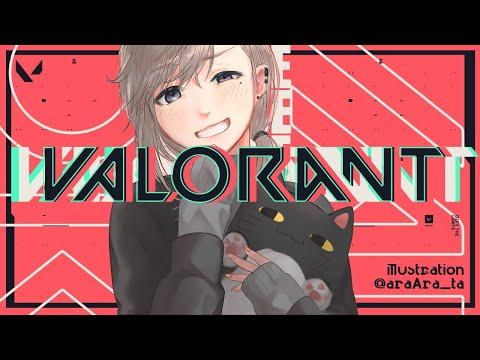 VALORANT|ランク実装されたらしいから行く!with あどみん KAMITO【にじさんじ/叶】