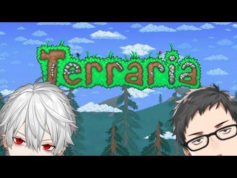 【Terraria #3】帰ってきたやしくず黄金伝説【社築/葛葉/にじさんじ】