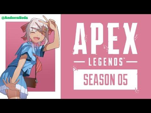 【Apex Legends】プラチナ高校生になりたい【APEX】【PC/PAD】【葉山舞鈴/にじさんじ】