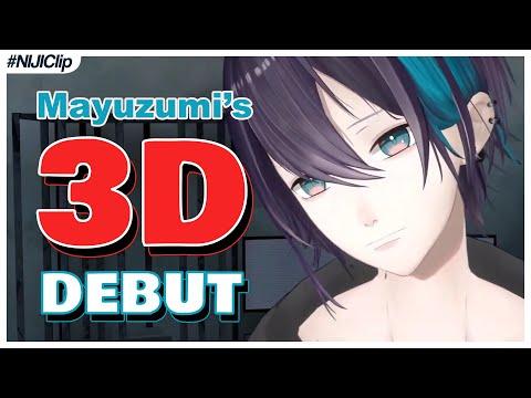 Kai Mayuzumi – 3D Model Debut Highlights (VTuber/NIJISANJI Moments) (Eng Sub)