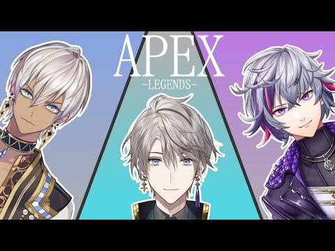 【コラボ/APEX】プラチナ目指してチームでいくぞ!【不破湊/イブラヒム/甲斐田晴】