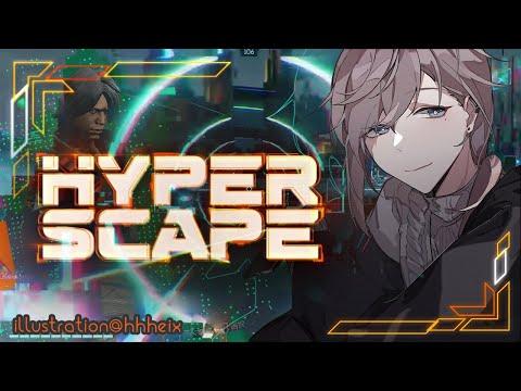 Hyper Scape|あどみんかみとさんと一緒にスクアッド!【にじさんじ/叶】