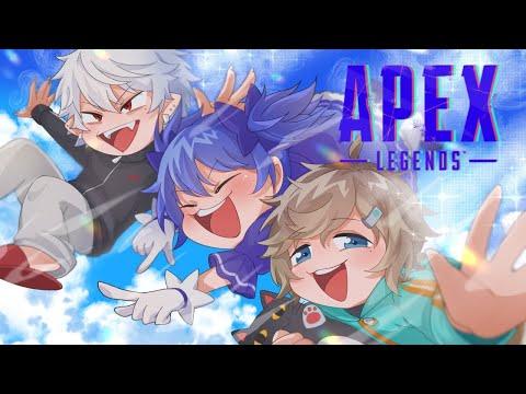 【APEX】原因不明ラグ配信。大会までにチームの強化!ノワちー【にじさんじ/勇気ちひろ】