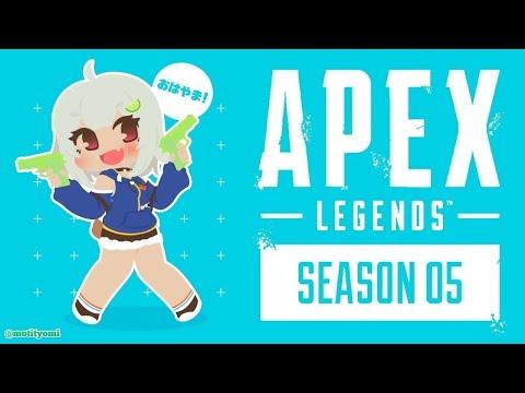 【Apex Legends】プラチナⅢめざして!【APEX】【PC/PAD】【葉山舞鈴/にじさんじ】