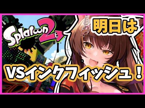 【スプラトゥーン2】対インクフィッシュに向けて…!!【にじさんじフミ】