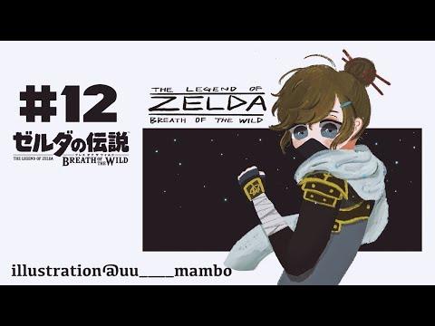 ゼルダの伝説 Botw|#12 深夜の祠めぐり~!【にじさんじ/叶】