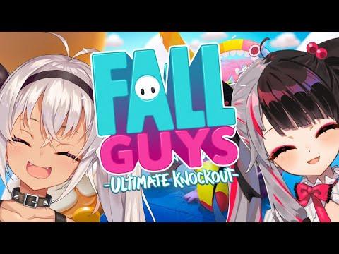 【Fall Guys】わちゃわちゃ対戦☆【夜見れな/にじさんじ】