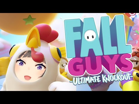 【FallGuys】完全初見のハイテンションバトロア生き残りゲーム‼‼‼【早瀬走/にじさんじ】