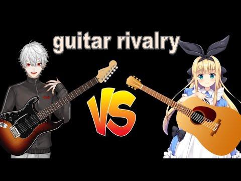 [Nijisanji/Eng sub]Kuzuha and Alice's Guitar Rivalry