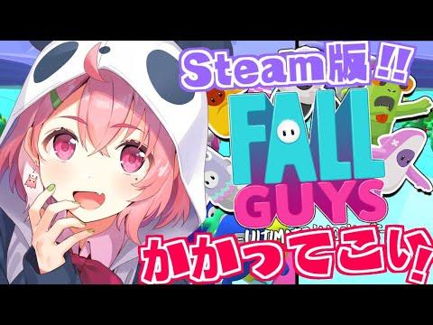 『 Fall Guys 』初PC版にのりこむ!1位余裕でとってくやよ。