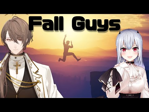 【Fall Guys】とうとうこのゲームと向き合う時が来た。【にじさんじ/加賀美ハヤト/葉加瀬冬雪】