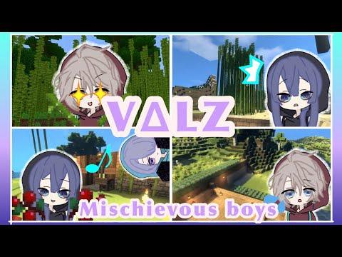 VΔLZ: Mischievous Boys [Kaida Haru/ Genzuki Tojiro/ Nagao Kei/ Nijisanji] (eng sub)