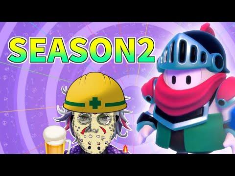 【Fall Guys】シーズン2!!クラウン取るまで終われまてん!!【にじさんじ】