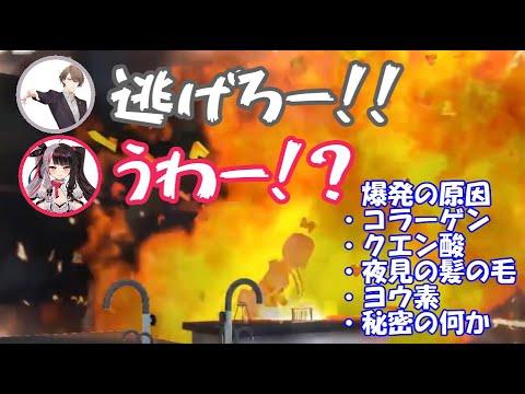 3Dお披露目で大惨事を起こす葉加瀬さん