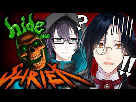 【Hide and Shriek】怖がらせ対決!!!【黛灰/シェリン/にじさんじ】