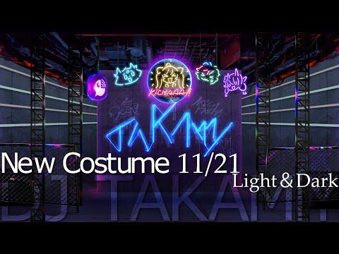 【新衣装】DJ TAKAMiY  LIVE  light&dark 【#鷹宮リオン新衣装】
