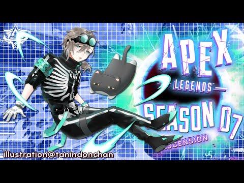 APEX  |ダークインフェルノドラゴン  チーム練習【にじさんじ/叶】