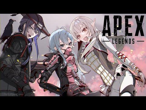 【Apex Legends】#渋谷ハルカスタム APEX✊部 雪城 視点¦※3分遅延有【雪城眞尋/にじさんじ】