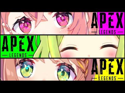 【APEX】ひまさくかざえぺぺ!【森中花咲/にじさんじ所属】