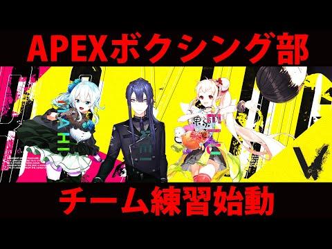 【APEX】カスタム前チーム練習じゃぞ~~~【にじさんじ/える】