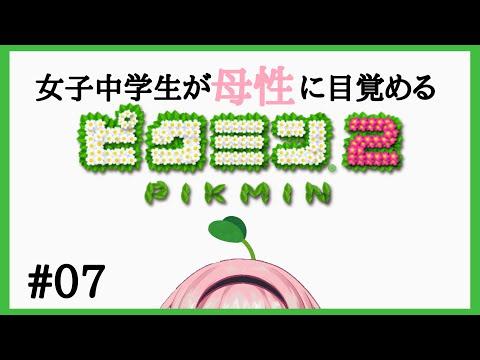 【ピクミン2 #7】母性収集ピクミンゴ【周央サンゴ】