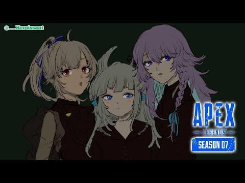 【Apex Legends】最協決定戦に向けてマリアンヌで練習~!【APEX】【PC/PAD】【葉山舞鈴/にじさんじ】