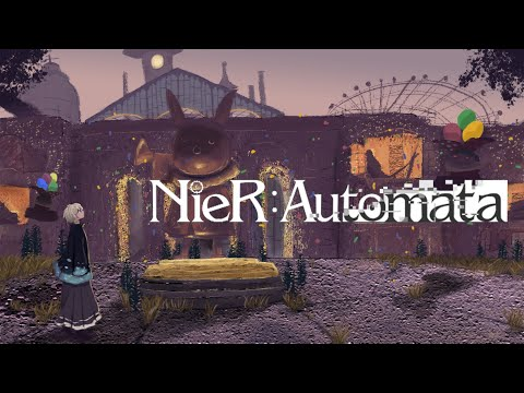 【 NieR:Automata 】#4 これは呪いか。それとも罰か。【甲斐田晴/にじさんじ】