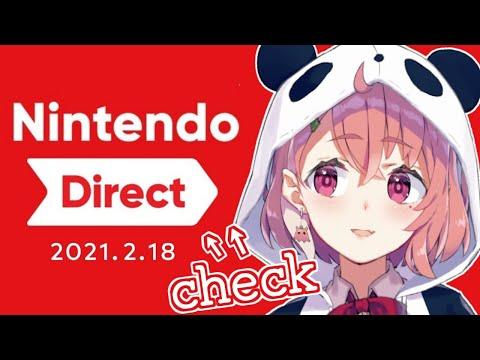 Nintendo Direct 2021.2.18 をいっしょに見る枠。【にじさんじ/笹木咲】