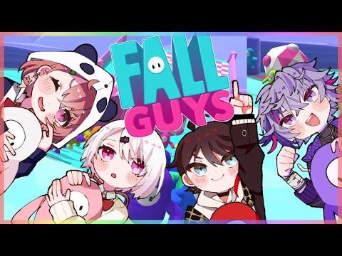 【Fall Guys】#ささしーふ で 大会練習!【笹木咲視点】