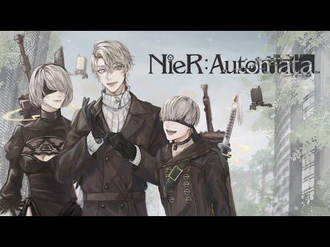 【 NieR:Automata 】#10 これは呪いか。それとも罰か。【甲斐田晴/にじさんじ】