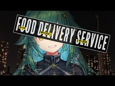 【Food Delivery Service】ウーバーのバイトミッション【北小路ヒスイ/にじさんじ】