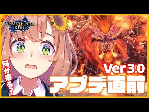 【モンハンライズ】モンハン→Ver3.0アプデ配信見→モンハン!!!!【本間ひまわり/にじさんじ】
