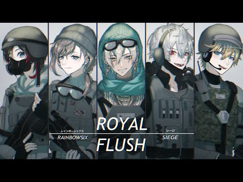 【R6S】久々のチーム練習【皆の衆】
